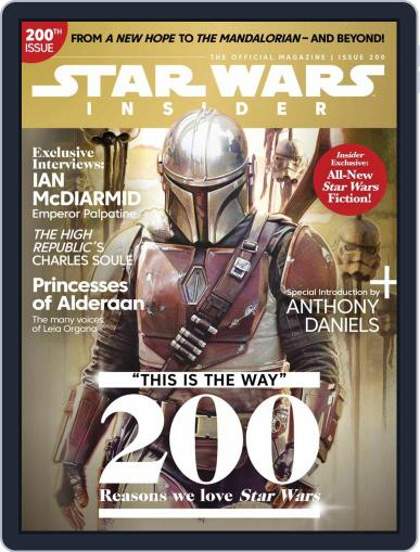 Star Wars Insider March 1st, 2021 Digital Back Issue Cover