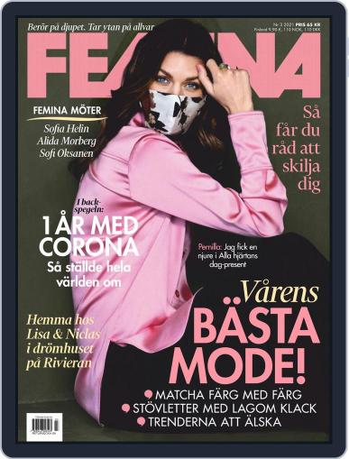 Femina Sweden (Digital) March 1st, 2021 Issue Cover