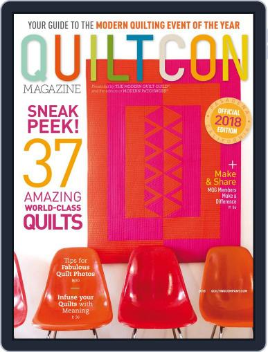 QUILTCON 2021 Magazine (Digital) February 1st, 2018 Issue Cover