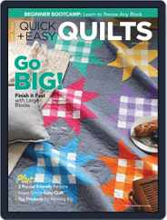 QUICK QUILTS (Digital) Subscription April 1st, 2021 Issue