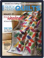 QUICK QUILTS (Digital) Subscription February 1st, 2021 Issue
