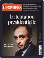 L'express (Digital) Subscription February 1st, 2021 Issue