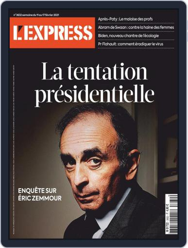 L'express (Digital) February 1st, 2021 Issue Cover