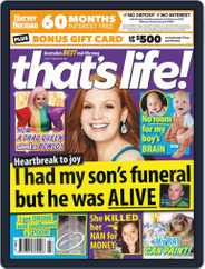 that's life! (Digital) Subscription February 18th, 2021 Issue