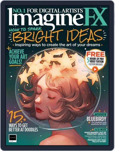 ImagineFX March 1st, 2021 Digital Back Issue Cover