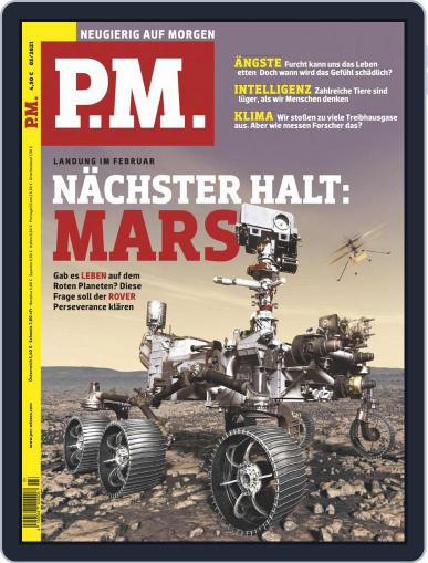 P.M. Magazin March 1st, 2021 Digital Back Issue Cover