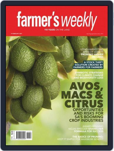 Farmer's Weekly February 19th, 2021 Digital Back Issue Cover