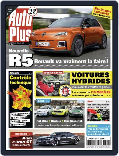 Auto Plus France (Digital) February 12th, 2021 Issue Cover