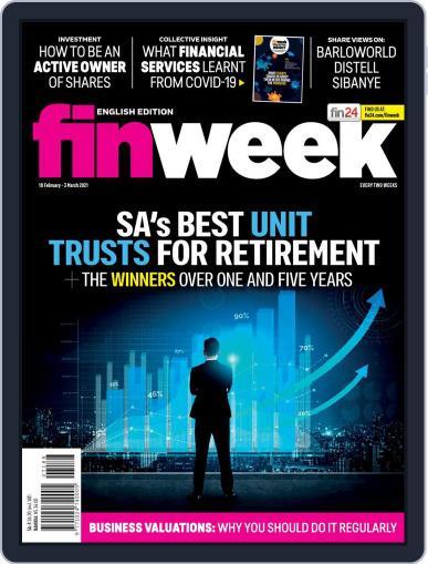 Finweek - English (Digital) February 18th, 2021 Issue Cover