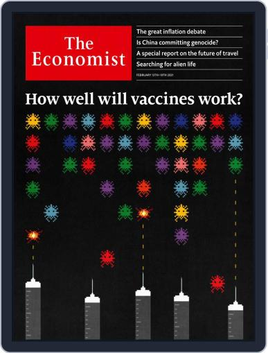 The Economist Asia Edition (Digital) February 13th, 2021 Issue Cover