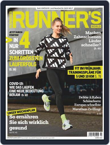 Runner's World Deutschland March 1st, 2021 Digital Back Issue Cover