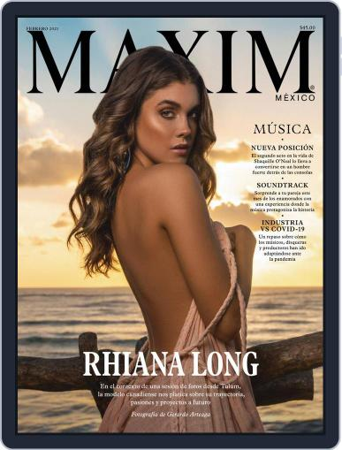 Maxim México (Digital) February 1st, 2021 Issue Cover