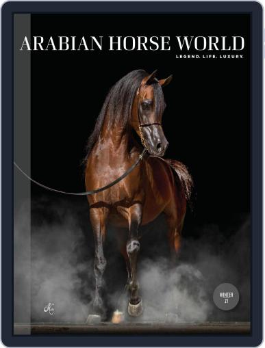 Arabian Horse World (Digital) February 1st, 2021 Issue Cover
