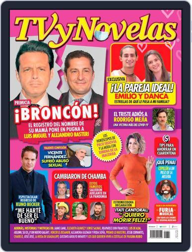 TV y Novelas México (Digital) February 15th, 2021 Issue Cover