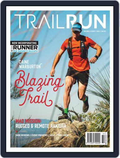 Trail Run February 1st, 2021 Digital Back Issue Cover