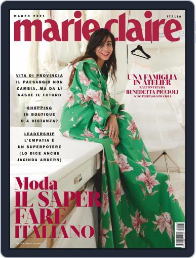 Marie Claire Italia March 1st, 2021 Digital Back Issue Cover