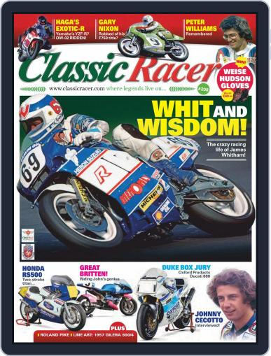 Classic Racer (Digital) March 1st, 2021 Issue Cover