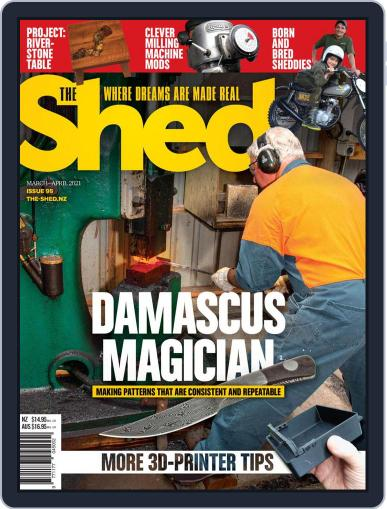 The Shed (Digital) March 1st, 2021 Issue Cover
