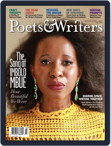 Poets & Writers (Digital) March 1st, 2021 Issue Cover