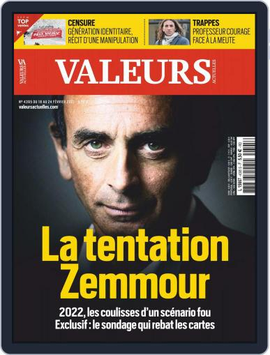Valeurs Actuelles (Digital) February 18th, 2021 Issue Cover