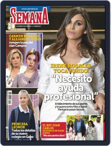 Semana (Digital) February 24th, 2021 Issue Cover