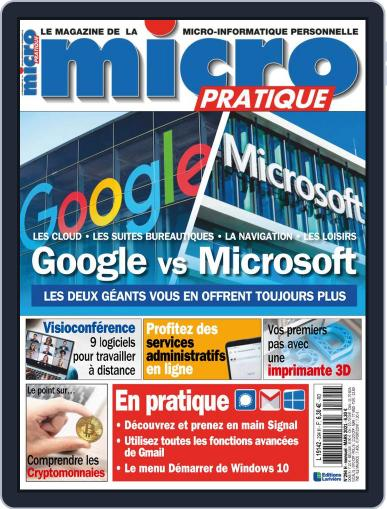 Micro Pratique (Digital) March 1st, 2021 Issue Cover