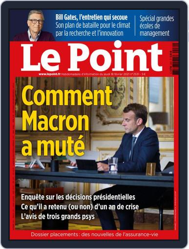 Le Point February 18th, 2021 Digital Back Issue Cover