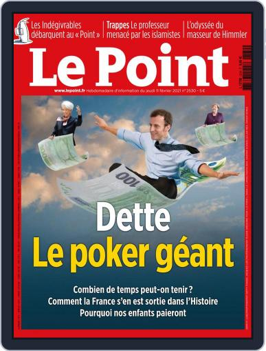 Le Point February 11th, 2021 Digital Back Issue Cover