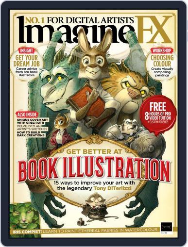 ImagineFX April 1st, 2021 Digital Back Issue Cover