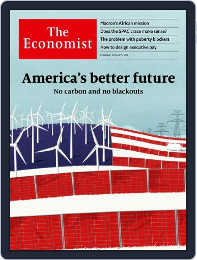 The Economist Latin America February 20th, 2021 Digital Back Issue Cover