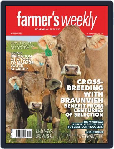 Farmer's Weekly February 26th, 2021 Digital Back Issue Cover