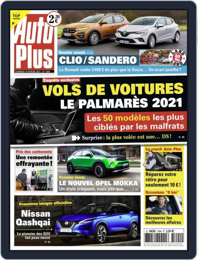 Auto Plus France (Digital) February 19th, 2021 Issue Cover