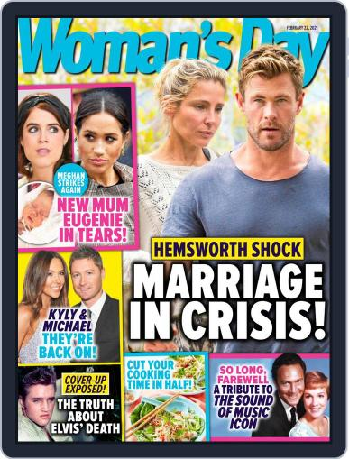 Woman's Day Australia (Digital) February 22nd, 2021 Issue Cover