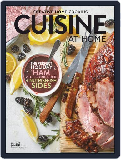 Cuisine at home (Digital) March 1st, 2021 Issue Cover