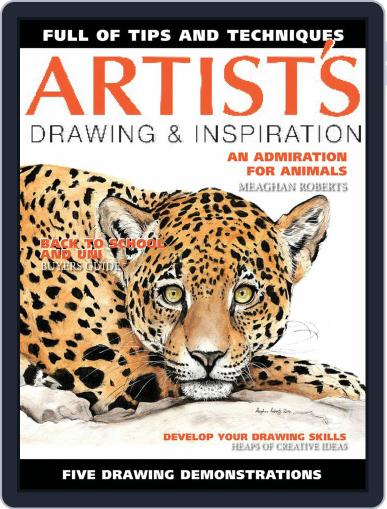 Artists Drawing and Inspiration March 1st, 2021 Digital Back Issue Cover