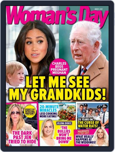 Woman's Day Australia (Digital) March 1st, 2021 Issue Cover