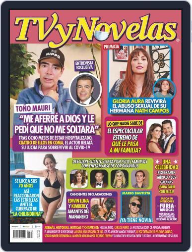 TV y Novelas México (Digital) February 22nd, 2021 Issue Cover