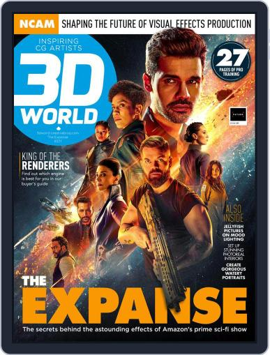 3D World April 1st, 2021 Digital Back Issue Cover