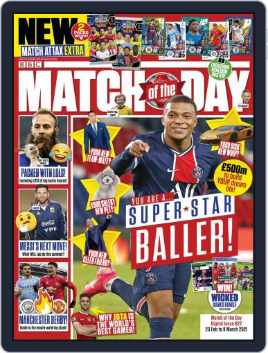 Match Of The Day (Digital) February 23rd, 2021 Issue Cover
