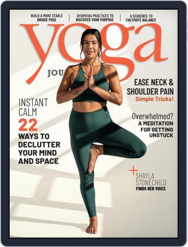 Yoga Journal (Digital) March 1st, 2021 Issue Cover