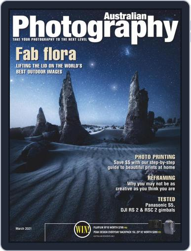Australian Photography (Digital) March 1st, 2021 Issue Cover
