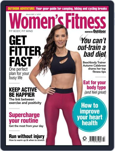 Women´s Fitness March 1st, 2021 Digital Back Issue Cover