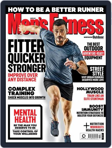 Men's Fitness UK (Digital) March 1st, 2021 Issue Cover