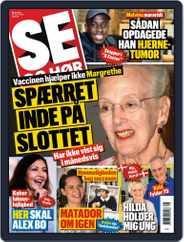 SE og HØR (Digital) Subscription February 24th, 2021 Issue