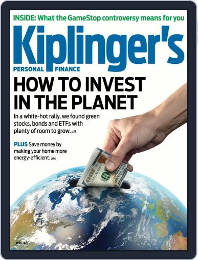 Kiplinger's Personal Finance April 1st, 2021 Digital Back Issue Cover
