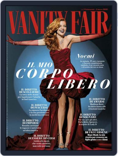 Vanity Fair Italia (Digital) February 25th, 2021 Issue Cover