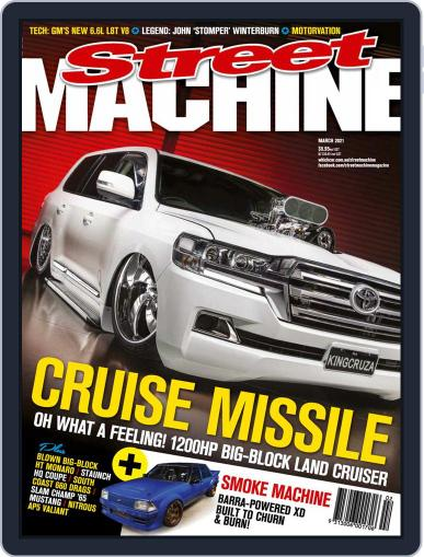 Street Machine March 1st, 2021 Digital Back Issue Cover