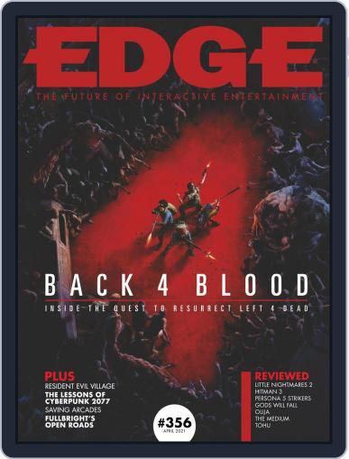 Edge April 1st, 2021 Digital Back Issue Cover