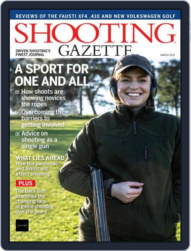 Shooting Gazette March 1st, 2021 Digital Back Issue Cover