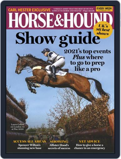 Horse & Hound (Digital) February 25th, 2021 Issue Cover